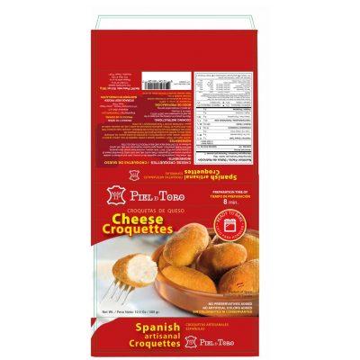Piel de Toro - Croquetas de queso
