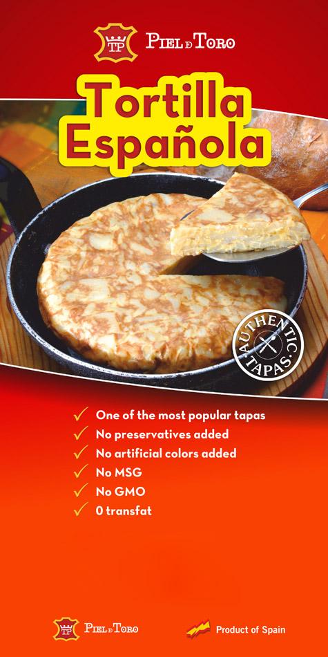 Piel de toro - Póster Tortilla