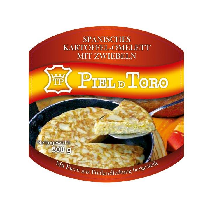 Piel de toro - Tortilla de patatas - Alemán