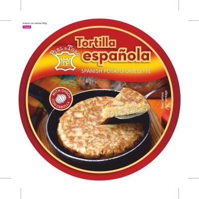 Piel de Toro - Tortilla con cebolla